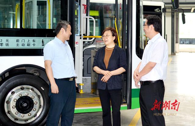 【湖南日报】谢建辉来衡调研 要求以高水平开放促进高质量发展