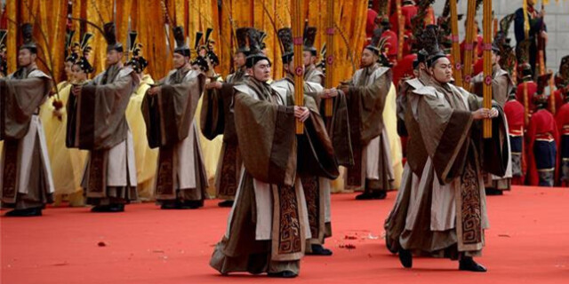 陕西举行戊戌年清明公祭轩辕黄帝典礼