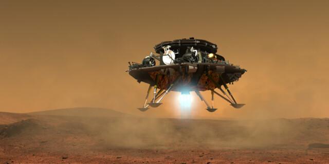 中国第一个火星探测器和火星车外观设计构型首次公布