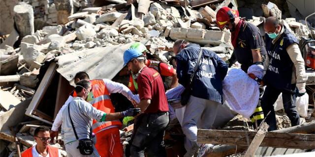 意大利地震死亡人数升至120人