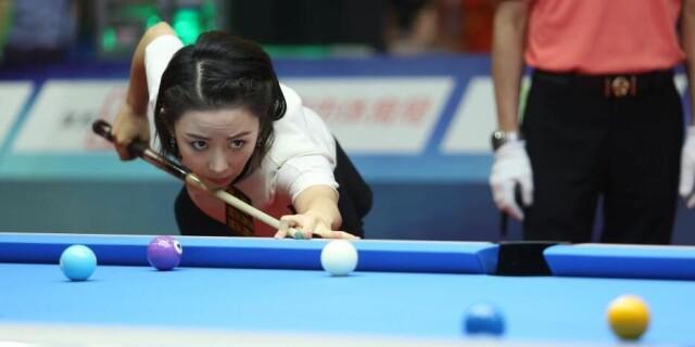 世界9球中国站开杆 潘晓婷首轮爆冷出局