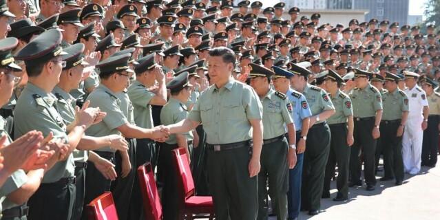 习近平视察战略支援部队机关