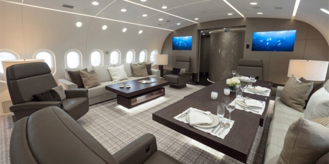 堪比豪华酒店!中国巨富购世界最豪华私人飞机