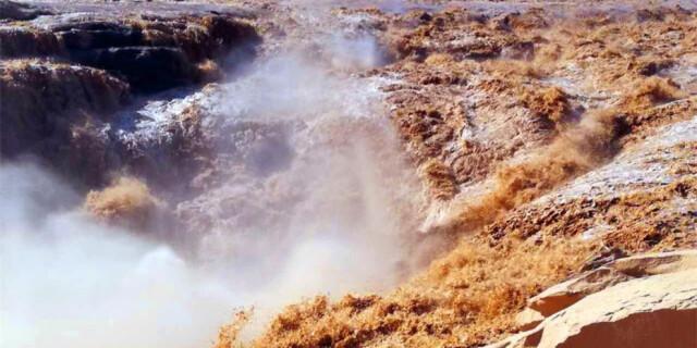 黄河壶口瀑布迎最佳观赏期 气势磅礴景象壮观