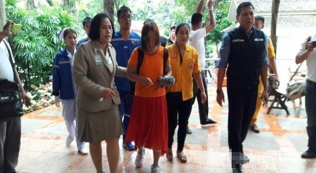 泰国虎园失踪中国女游客被找到 正在溪边洗衣