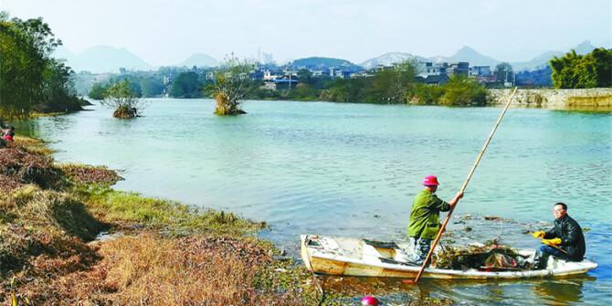 洁净环境 美化河溪