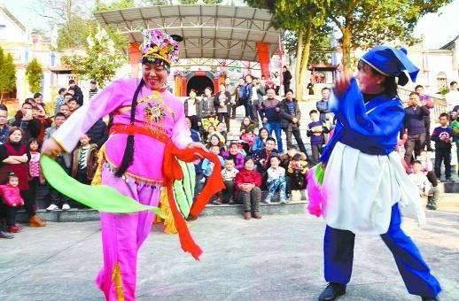 民俗表演庆新春