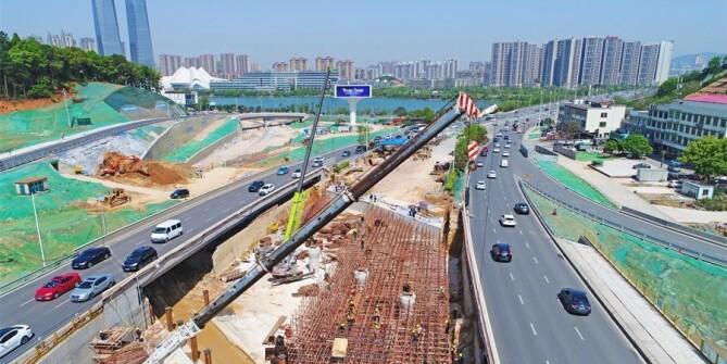 长沙西二环交通改善工程下月底全线通车