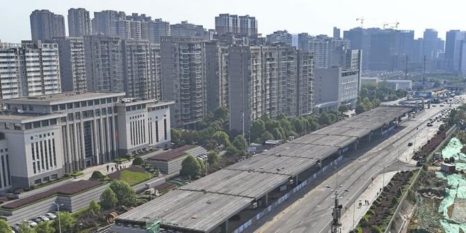 湘府路快速化改造开始桥面铺设