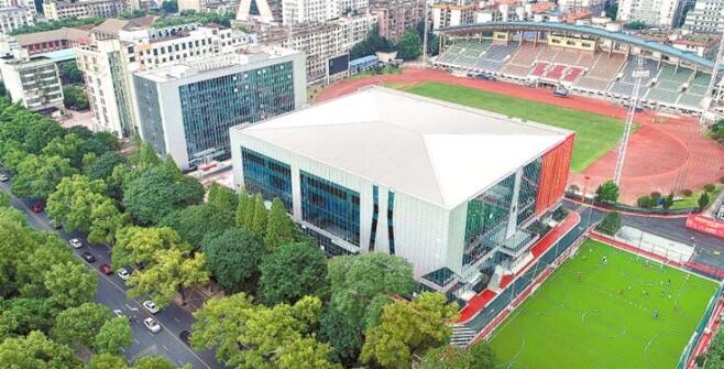 湖南省体育场全民健身示范中心启用