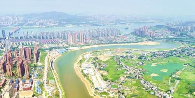 长沙捞刀河环境整治显成效
