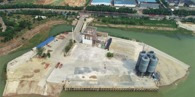一组对比图告诉你岳阳港口码头的前世今生