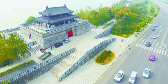 湘潭踜江兩大景觀節點工程竣工