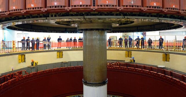 澳门真人赌场平台最大常规水电机组检修