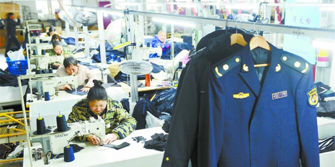 服饰产业发展快