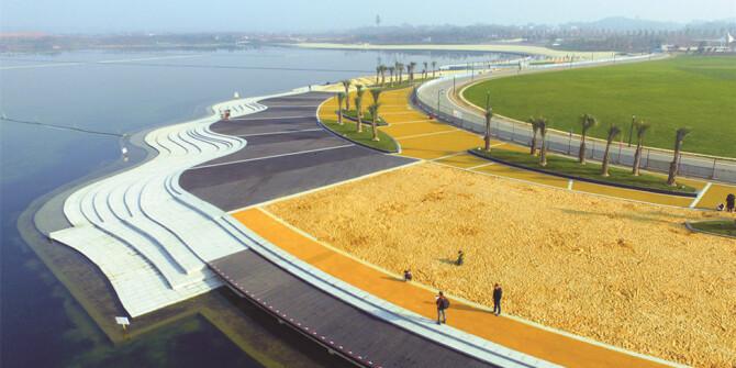 长沙县松雅湖湿地公园金沙银滩请你来玩
