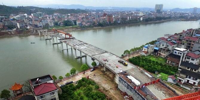 麻阳锦江三桥计划5月底建成通车