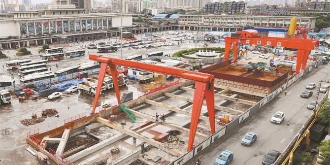 长沙地铁3号线火车站实现主体结构完工