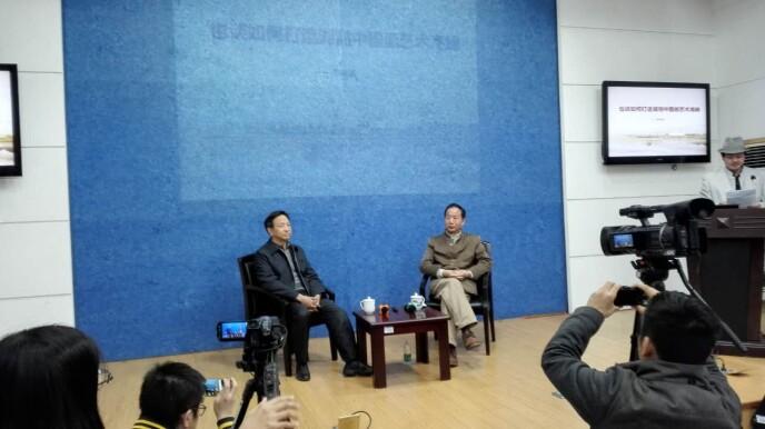 彭崇谷对话朱训德:打造湖湘中国画的艺术高峰
