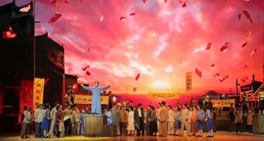 """湖南省庆祝中国共产党成立100周年文艺晚会""""百年正青春""""大幕将启"""