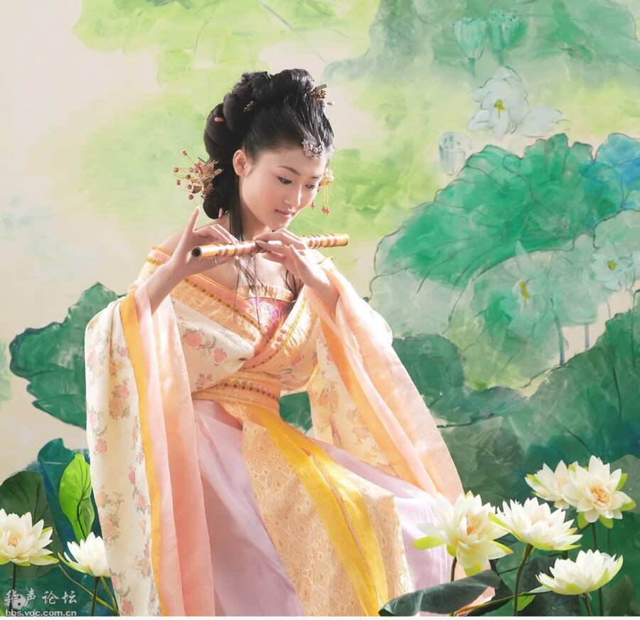 荷花仙子 精美大图 美女人体艺术