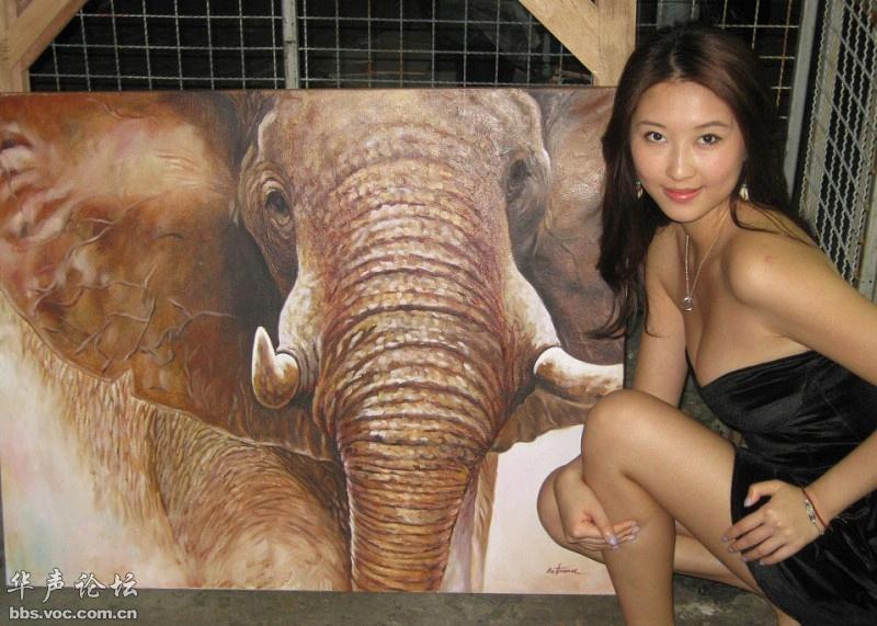 美女游泰国 美女人体艺术 美女诱惑