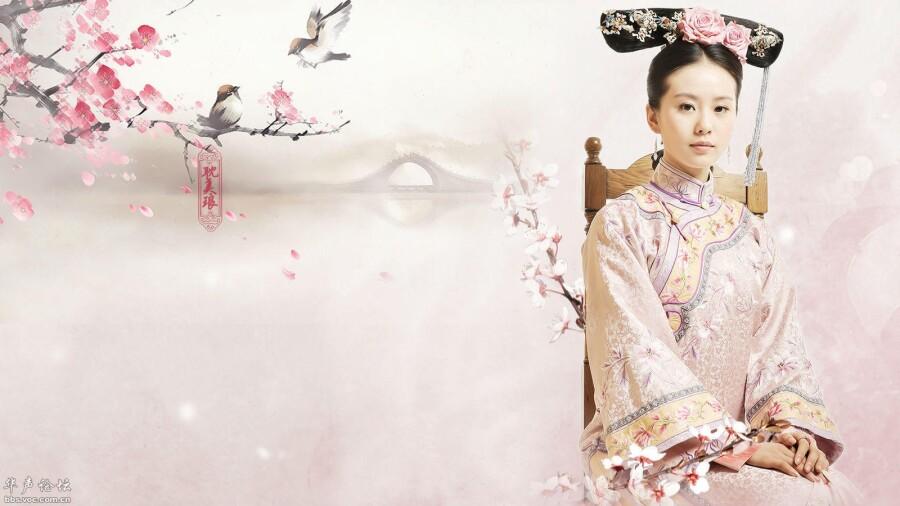 【美图共享】◆ 刘诗诗古装壁纸 美女人体艺