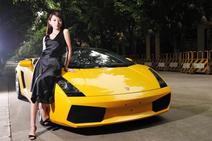 ,世界名车兰博基尼,兰博基尼名车视频比赛,名车兰博基尼美女 高清图片