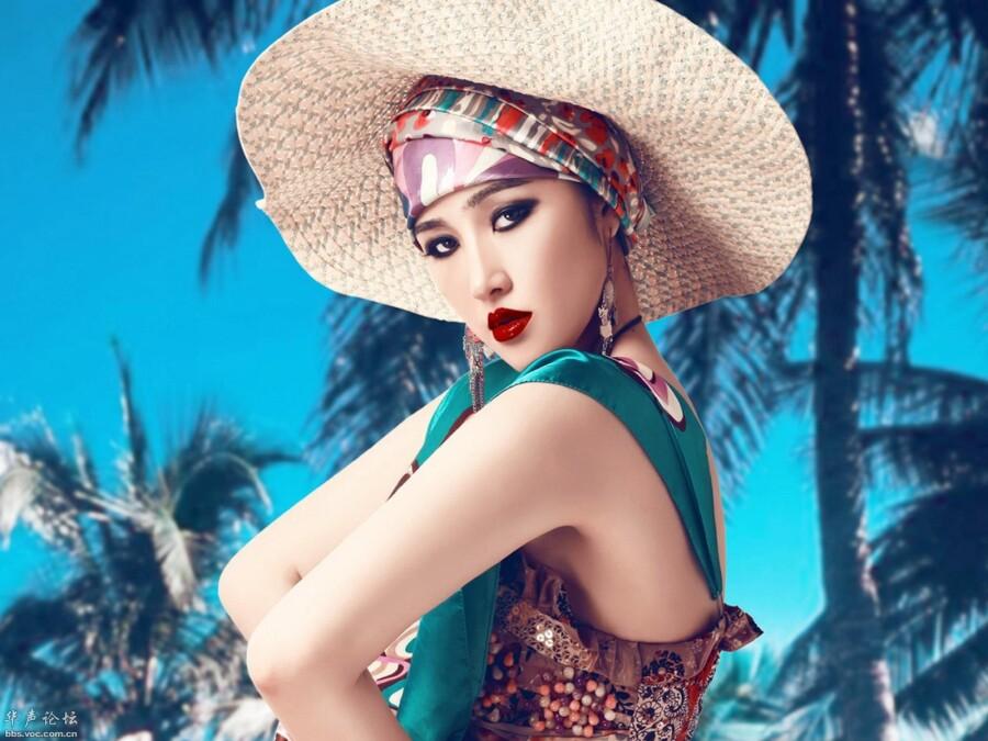 美女模特夏日沙滩丽影 美女人体艺术