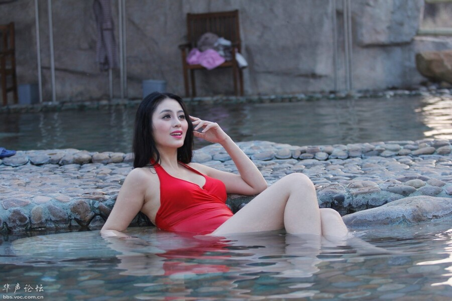 温泉倩影 美女人体艺术 美女诱惑