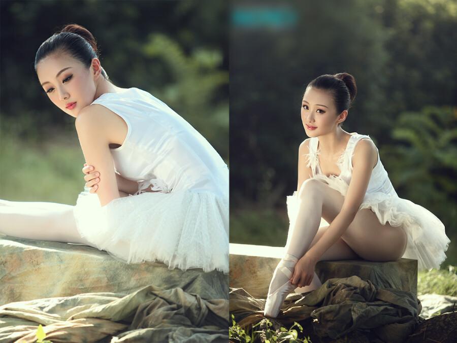 … 芭蕾女孩 … 美女人体艺术 美女诱惑