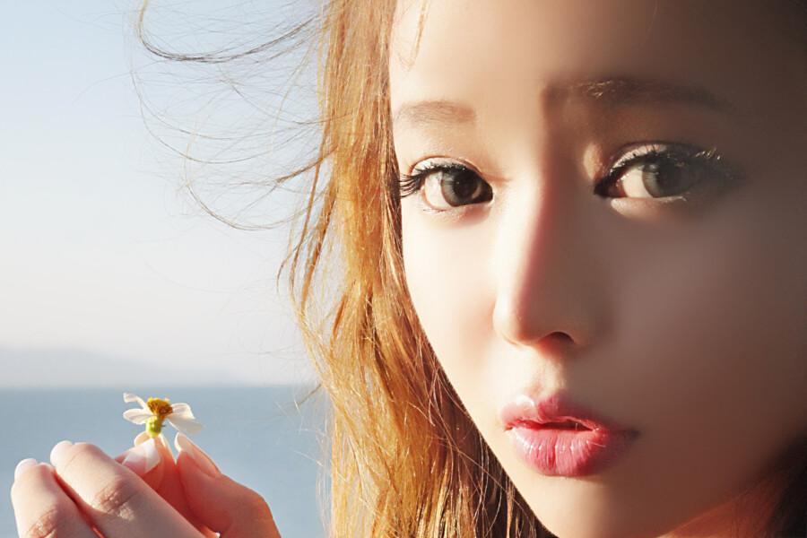【美图共享】◆ 裴紫绮北海道海岸拍写真 225