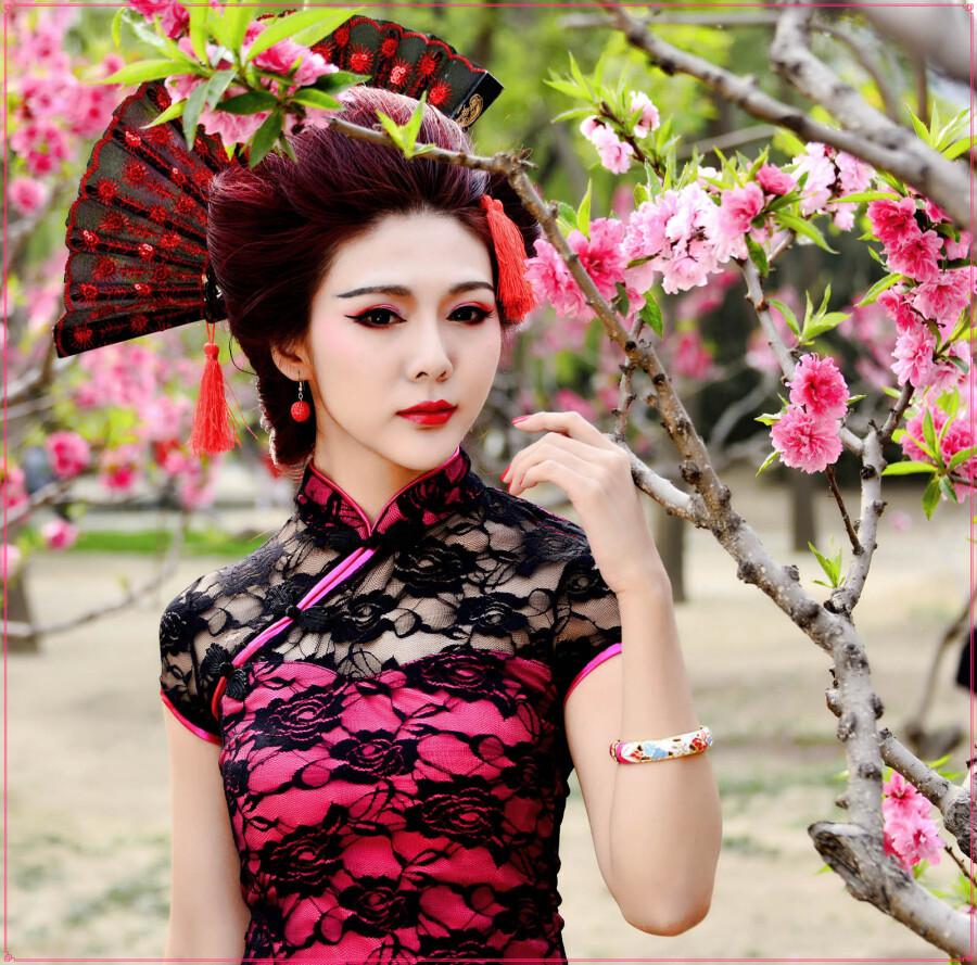 古装及旗袍素材东方气质美女 - 芳芷香惠 - 芳芷香蕙欢迎你