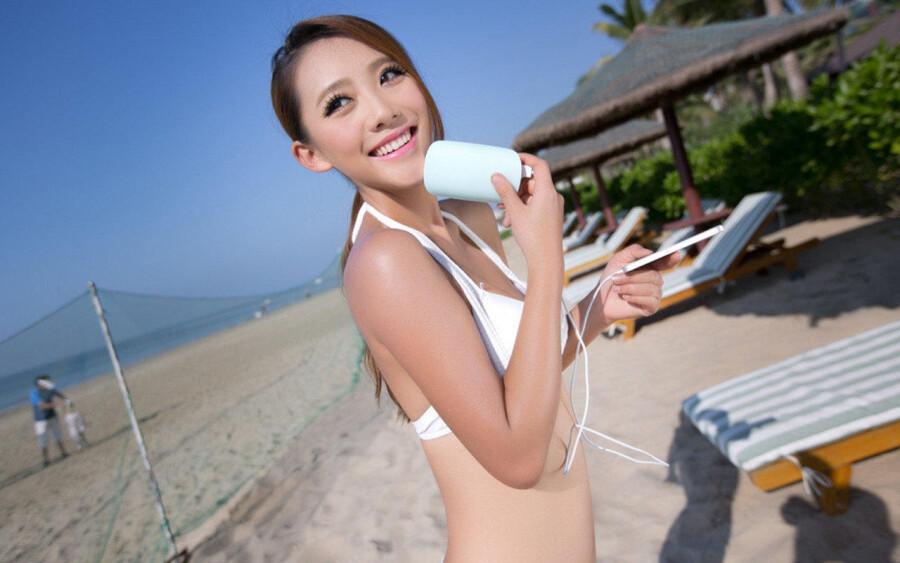 性感唯美沙滩比基尼美女 美女人体艺术