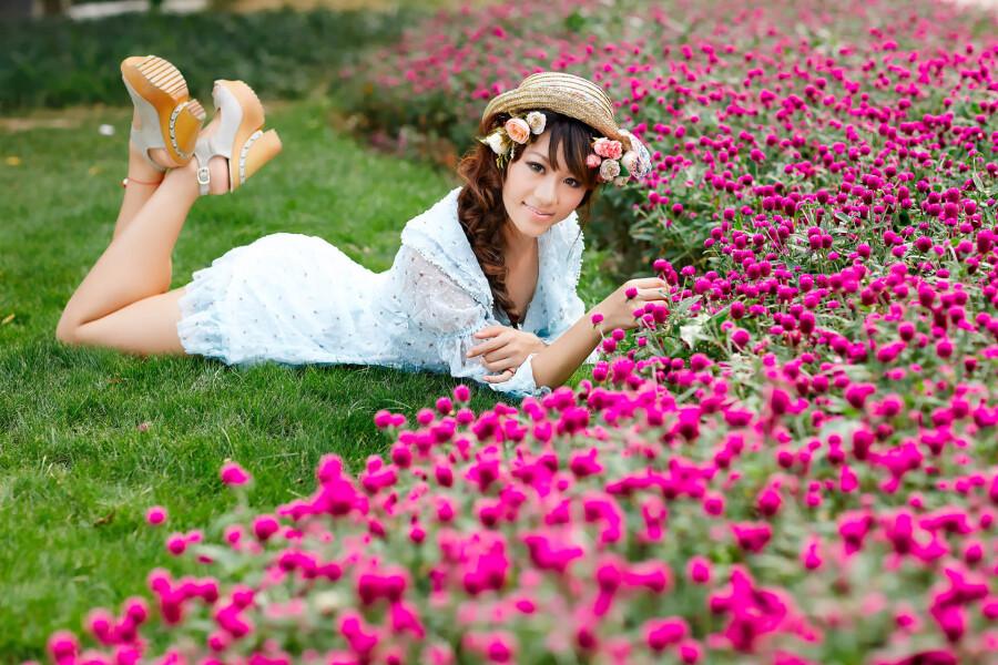 【美图共享】◆ 清新·笑靥 美女人体艺术