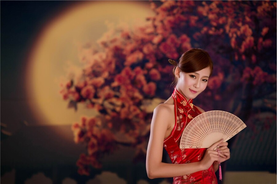【古装及旗袍素材篇】漂亮时尚东方气质旗袍美女 第45辑 - 浪漫人生 - .