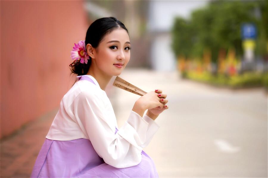 【现代时尚素材篇】甜美的韩服MM - 浪漫人生 - .