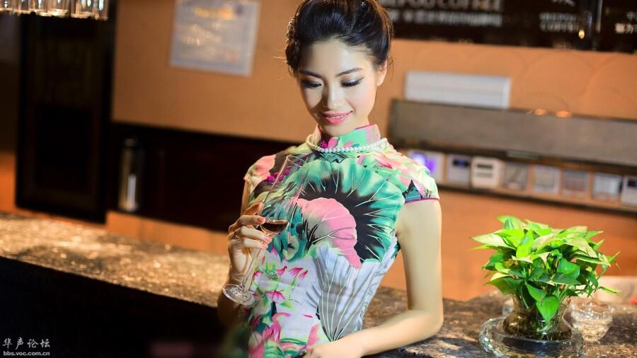 贴图古典旗袍美女欣赏 美女人体艺术