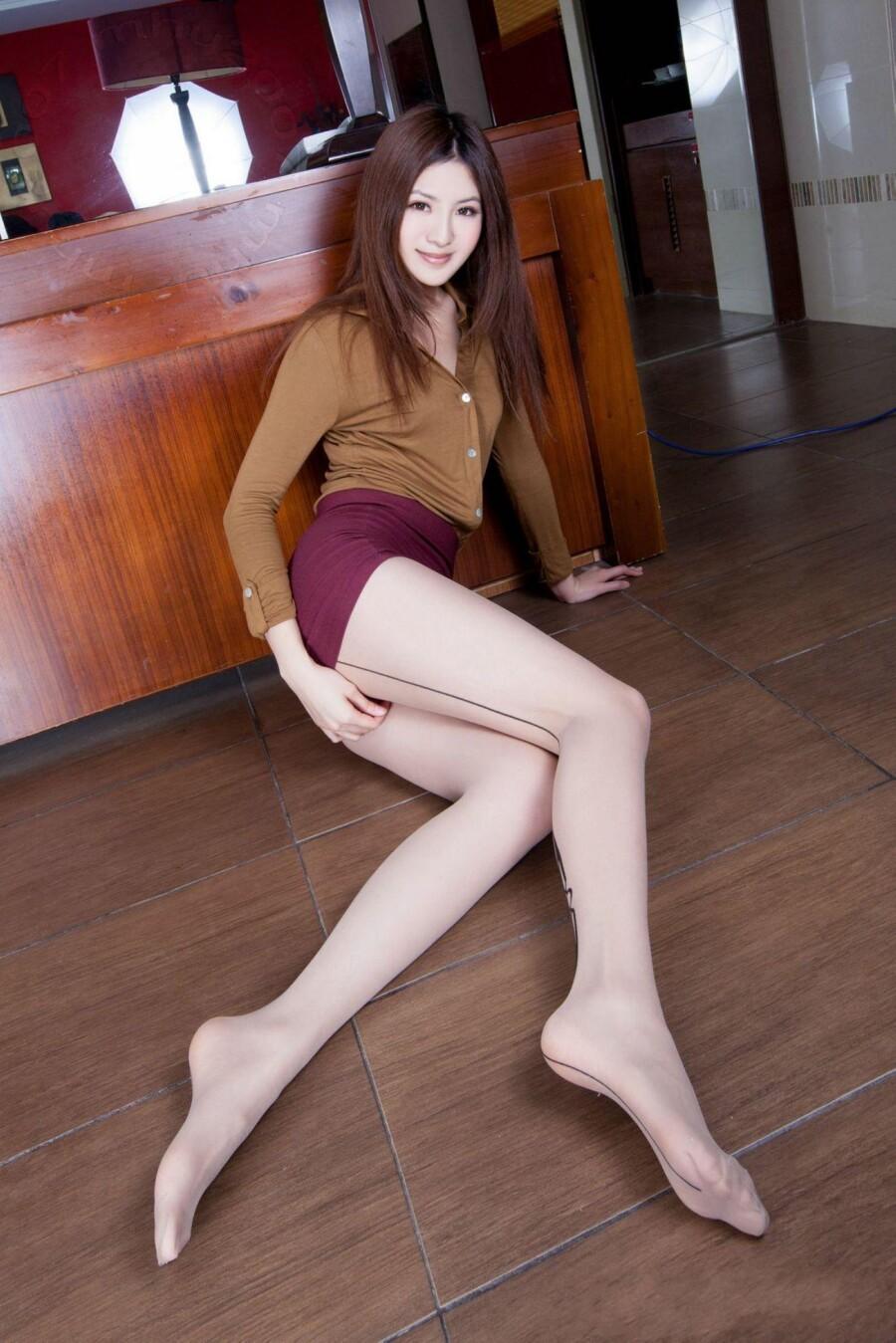 美腿秀38(模特Vicni)