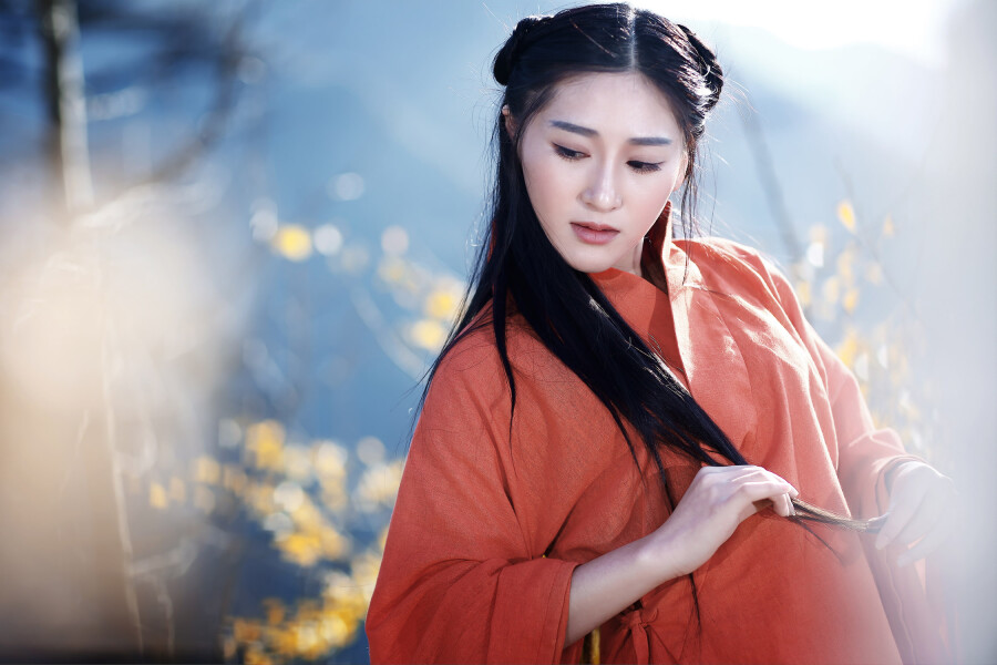 【制作音画人物素材二篇】古韵◆~情未了 秋色秋声 - 浪漫人生 - .