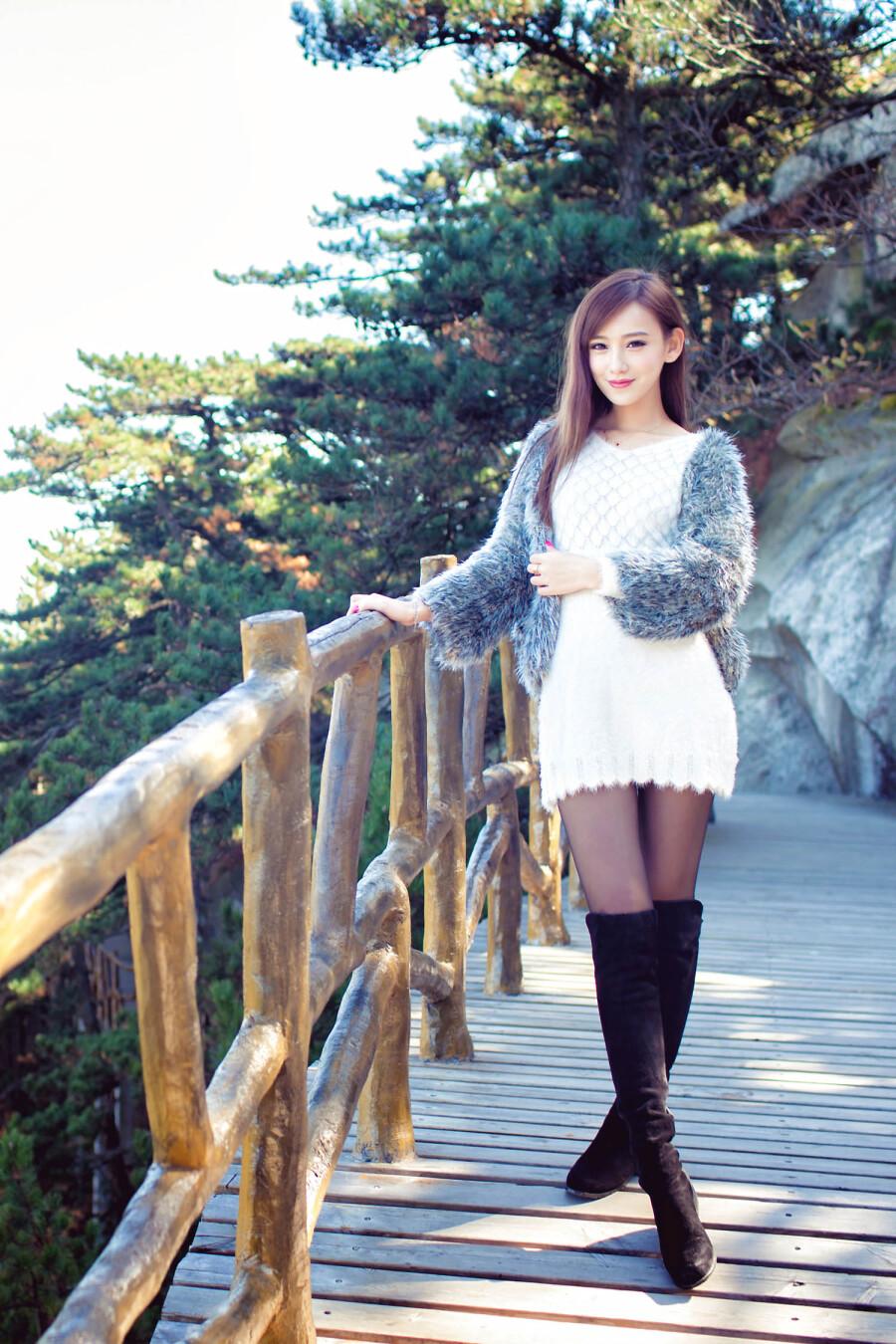 【现代时尚素材篇】女神李玉洁Daisy - 浪漫人生 - .