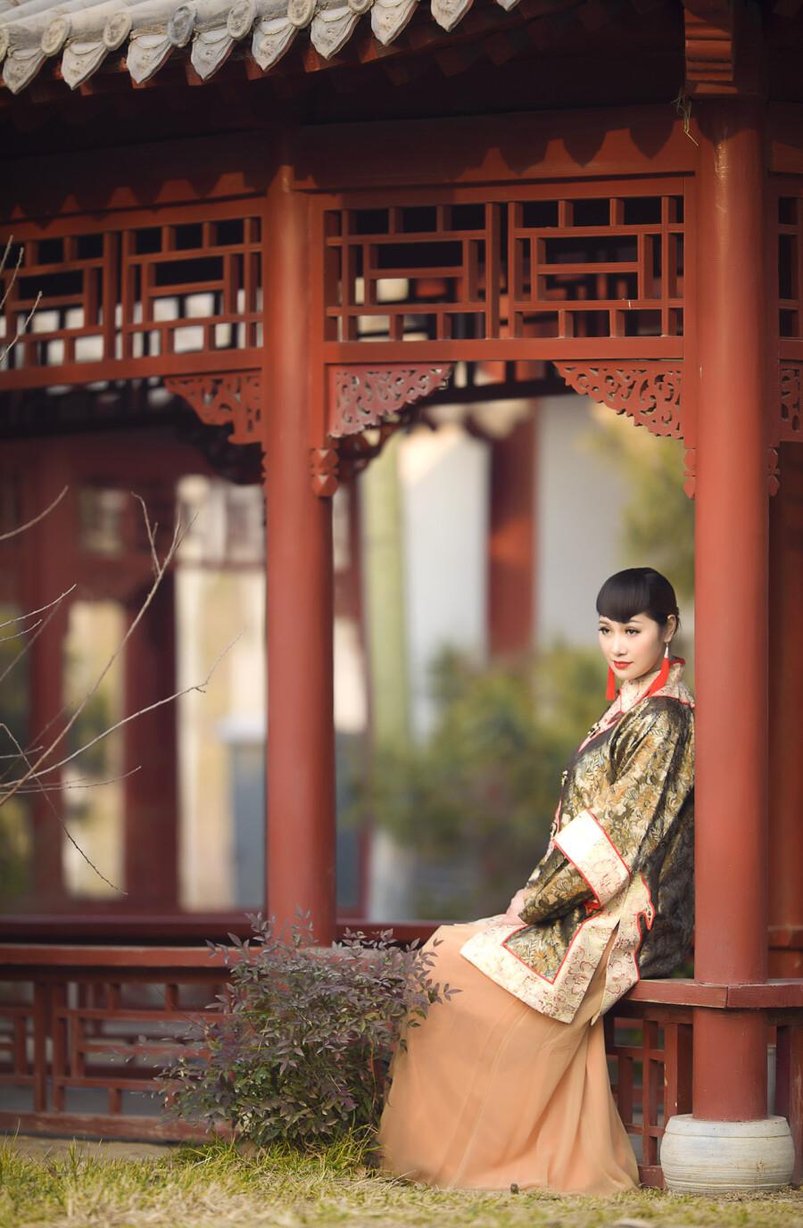 【制作音画人物素材二篇】古韵◆~大家闺秀 - 浪漫人生 - .