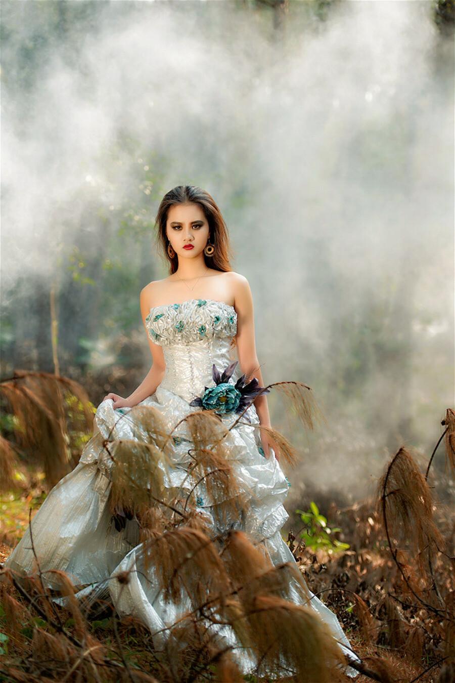 浪漫婚纱 森林天使 - 春晖 - 春晖的博客