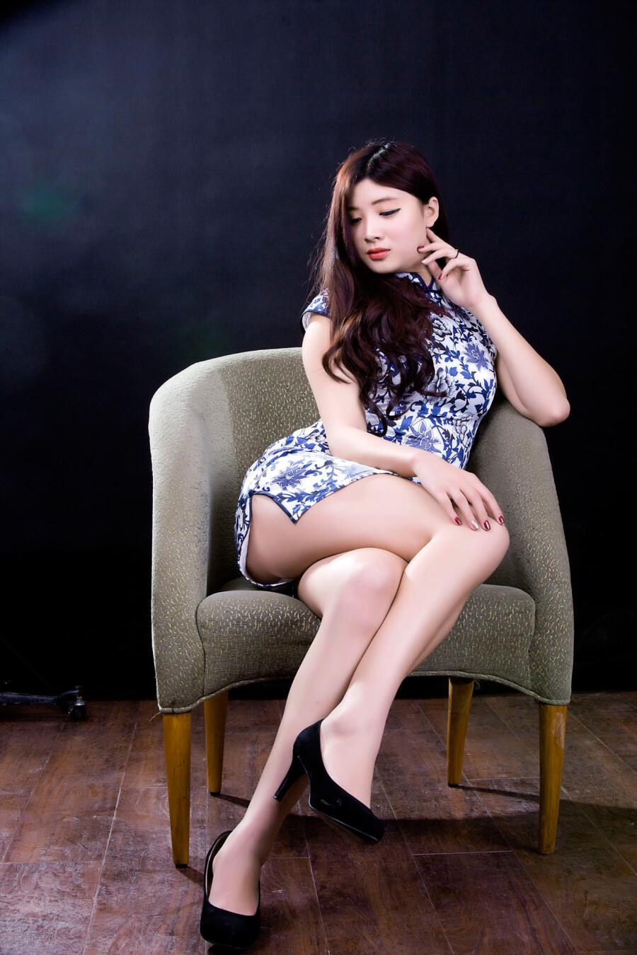 【古装及旗袍素材篇】美眉旗袍 - 浪漫人生 - .