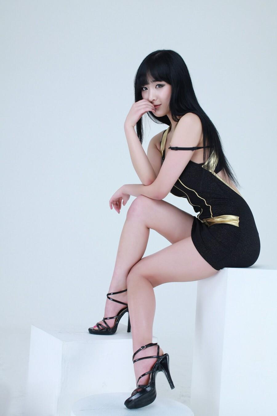 韩国模特 敏儿