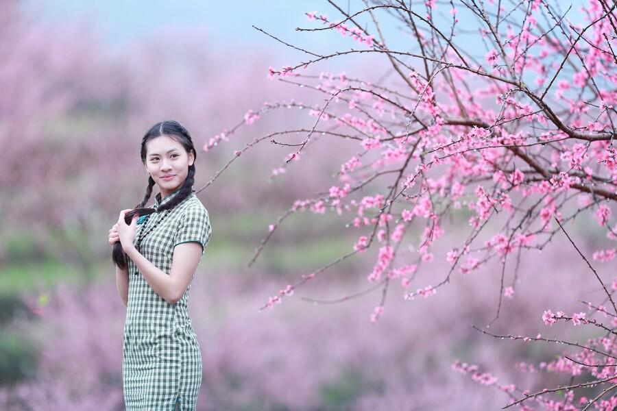 桃花红杏花白 - 春色满园 - 春色满园